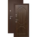 Входная дверь Ретвизан Триера1 (медь-темный орех) сталь 1.5мм 2 замка полотно 96мм