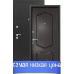 Дверь входная Сибирь S-1/1(серебро-венге), 2 замка, сталь 1,0 мм.