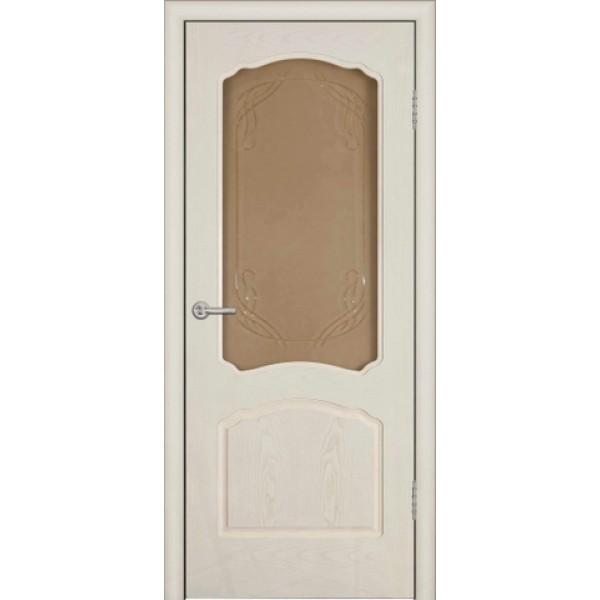 Дверь Зодчий, Валенсия, ясень жемчуг. ПО.