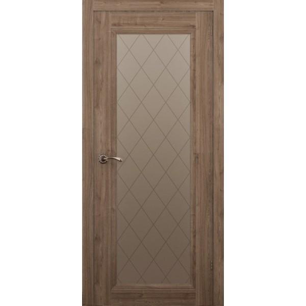 Дверь ALLEGRO 901, сосна орегонская, остеклённая.