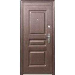 Дверь стальная К-700(полотно 7 см),сталь 0,8 мм, 2 замка.