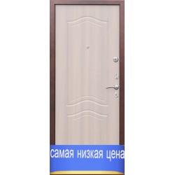 Дверь входная Гарда 1512 (медь-белёный дуб)